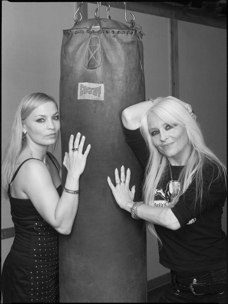 Regina Halmich, Boxweltmeisterin; Doro Pesch, Rocksängerin