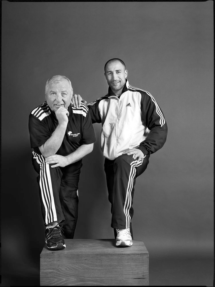 Ulli Wegner, Boxtrainer; Arthur Abraham, Boxer