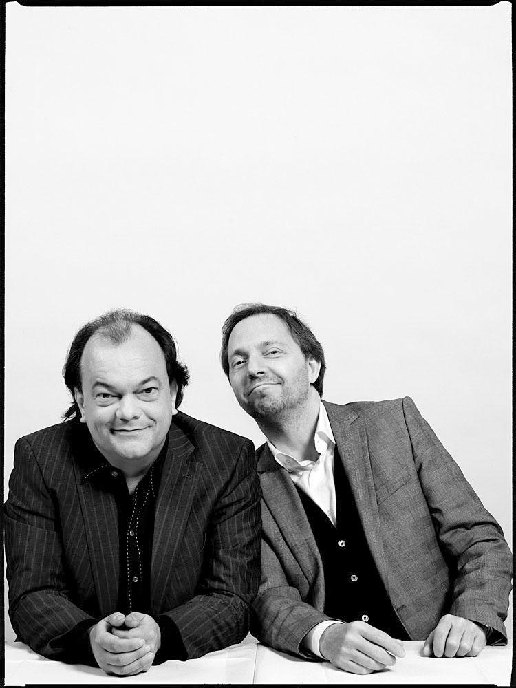Markus Schmidt, Gitarrist; Olli Dittrich, Schauspieler