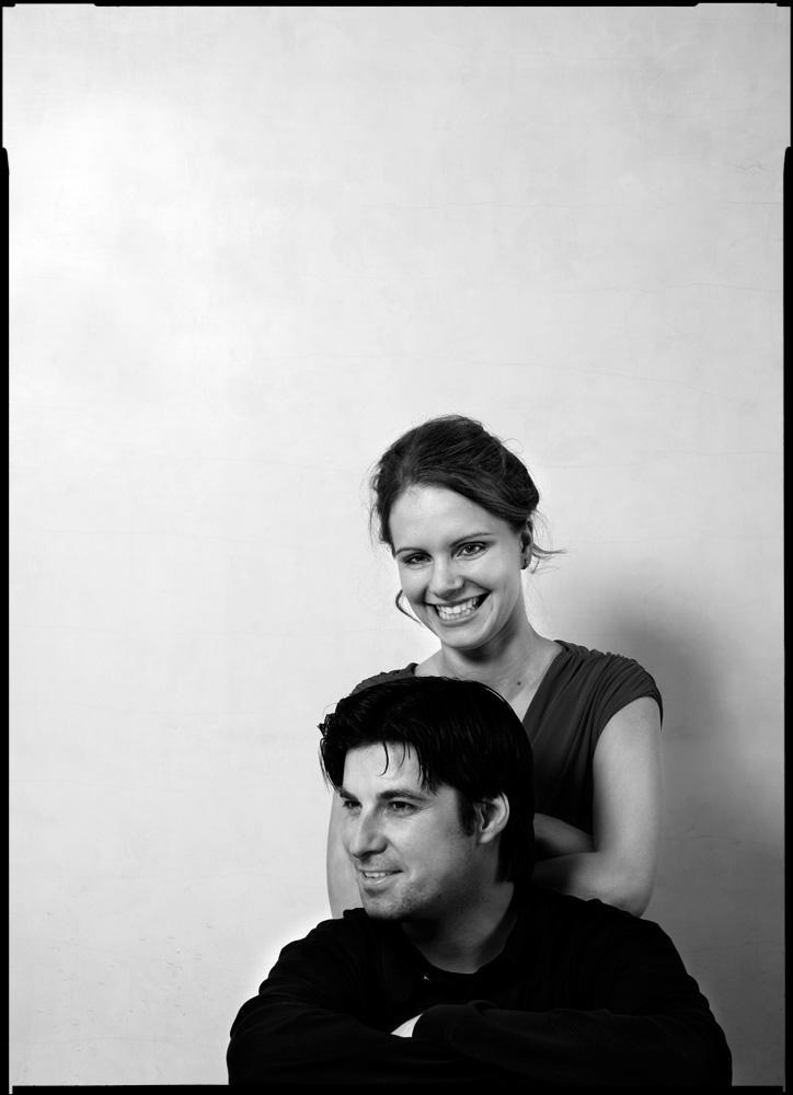 Julia Fischer, Violinistin und Daniel Müller-Schott, Cellist